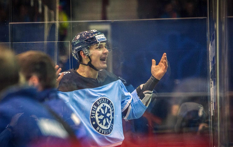 Виталий Меньшиков Хоккеист Сибирь