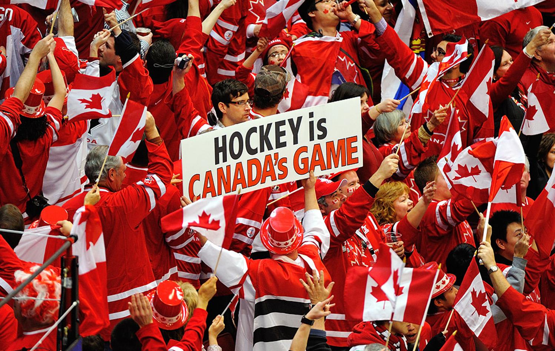 Хоккей Кубок Мира Канада Болельщики