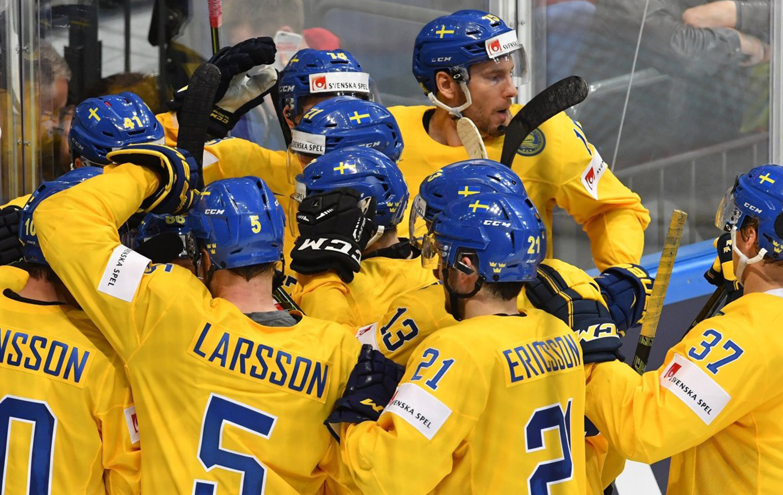Шведская сборная по хоккею