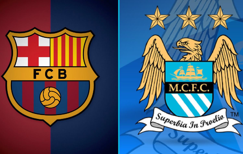 Барселона - Манчестер Сити Логотип