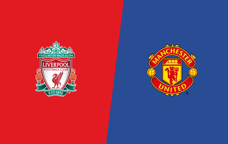 Эмблемы ФК Манчестер Юнайтед и Ливеруль