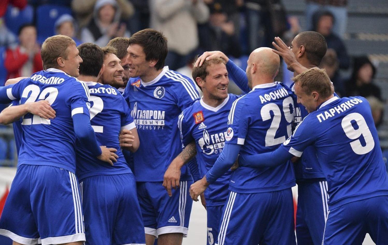 Фото футбольного клуба оренбург