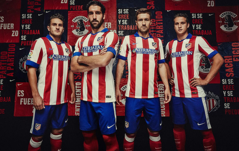 Фото игроков Атлетико М