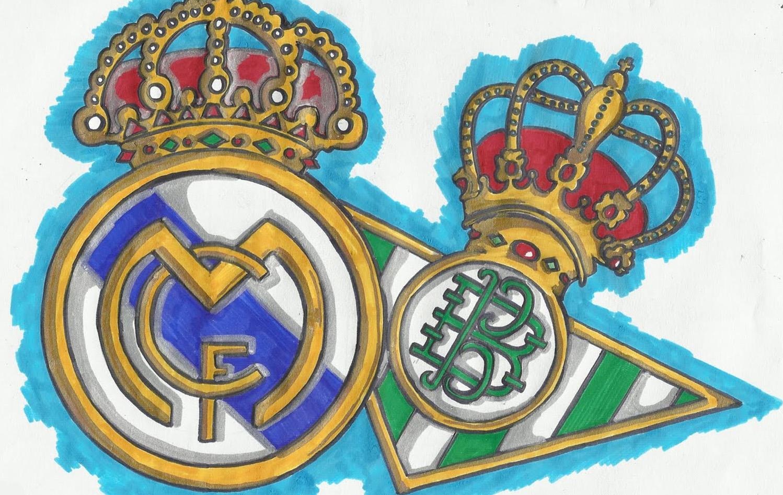 Бетис и Реал-Мадрид эмблемы