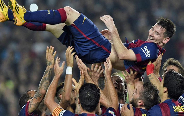 Барселона Месси фото
