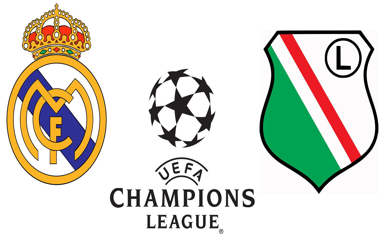 Реал Мадрид Легия Лига Чемпионов Логотипы