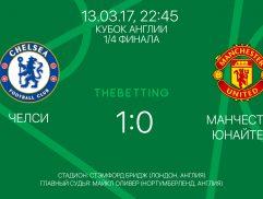 Обзор матча Челси - Манчестер Юнайтед 13 марта 2017