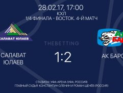Обзор матча Салават Юлаев - АК Барс 28 февраля 2017